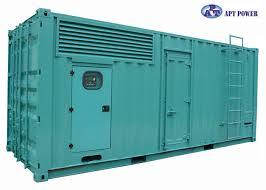 industrial power generators. 100 - 300 KVA Industrial Power Generators Powered By Diesel Engine For Factory L