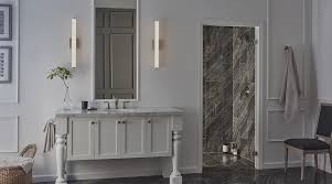 over bathroom cabinet lighting. Finn LED Bath Bar By Tech Lighting Over Bathroom Cabinet Lighting