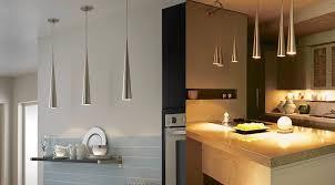 glamorous modern island lighting elegant within amazing kitchen contemporary pendant light fixtures metallic cone lights clear