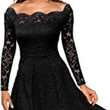 Missmay Vintage Floral Lace Dress Hostess Pick