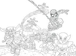 Marvel Coloring Books Marvel Coloring Pages For Adults Marvel