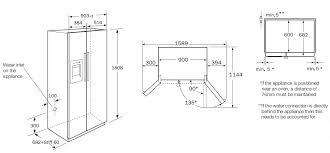 standard refrigerator height. Standard Fridge Size Refrigerator Height G