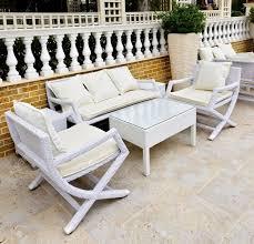 White Wicker Outdoor Furniture QJDQE cnxconsortium