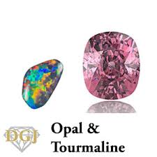Tourmaline Color Chart Birthstones By Month History Facts Color Guide