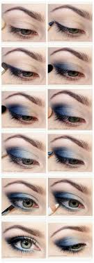 how to do blue smokey eyes graduation makeup tutorials by makeuptutorials