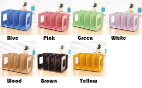 diy office desk accessories. DIY Wood Board Storage Box Desk Decor Stationery Office Organizer New DVD CD Rack Korean Wooden Shelf-in Boxes \u0026 Bins From Home Garden On Diy Accessories M