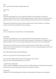 2007_ _top_ten_antivirus_software_programs_reviewed By
