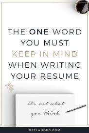 107 Best Resume Writing Tips Images On Pinterest Resume Tips