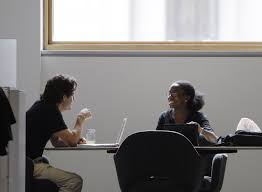 the right way to make a salary counter offer business insider young professionals talking computer black w white man