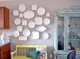 Plates Wall Decor Remodelaholic Eclectic Plate Wall Tutorial