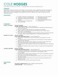 Teacher Aid Resume 24 New Pictures Of Sample Teacher Aide Resume Resume Sample Templates 19