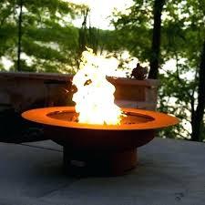 corten steel round fire pit best pits images on gas outdoor rectangular corten steel fire pit