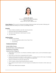 objective resume sample assistant cover letter 5 objective resume sample