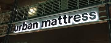 urban mattress san antonio halo channel letter sign