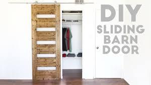 diy mid century modern sliding barn door modern builds ep 54 you