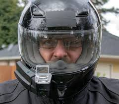 the nuviz head up display brings the motorcycle helmet into the 21st century