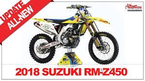 2018 suzuki ltr 450. simple 2018 all new 2018 suzuki rmz 450 unveiled youtube in suzuki ltr u