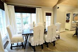enchanting dining room chair seat slipcovers wonderful inspiring short dining room chair covers with arms home