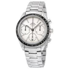 men s watches luxury fashion casual dress and sport watches omega speedmaster racing automatic chronograph silver dial stainless steel men s watch 32630405002001