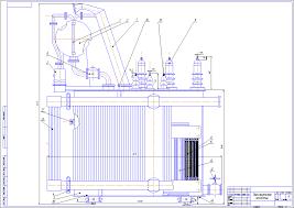 Трансформатор Разное Готовые работы Курсовые расчеты  Чертеж маслянного трансформатора