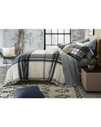 plaid duvet covers. Wonderful Covers Ugg Dakota Plaid Cotton Flannel Fullqueen Duvet Cover In Charcoal Covers