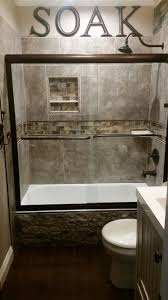 guest bathroom ideas. DIY Rustic Small Guest Bathroom...accented With Airstone Faux Stone On The Side Of Tub, 20\ Bathroom Ideas E