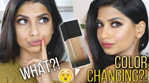 Huda Beauty Faux Filter Foundation Changes Colors What Review Demo
