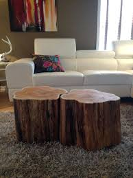 coffee table made from tree tables walnut stump ideas end trunks natural root
