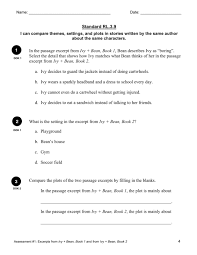 RL.3.9 Compare Multiple Stories | Reading: Literature | 3rd Grade ...