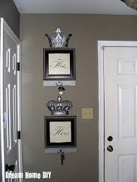 his and hers crown wall decor king and queen bedroom wall decor my same crowns from