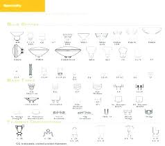 Light Bulb Shape And Size Chart Light Bulb Base Chart Traveltoday Pw