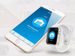 open garage door with iphoneWhen are you going to Release the the apple watch version to open