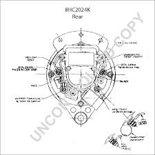 8hc2024k alternator product details prestolite leece neville 8hc2024k rear dim drawing