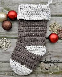Crochet Stocking Pattern Cool 48 Crochet Christmas Stocking Patterns Full Of Holiday Spirit
