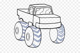 Pickup truck Car Monster truck Drawing - pickup truck png download ...