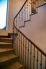 Modern Curved Stairway, Modern, Organic Materials, Natural Materials,  contemporary remodel, organic