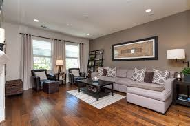 Contemporary Living Room with Carpet, Hardwood floors, The Abstract Paper  Collection, Adjustable curtain