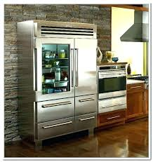 sub zero glass door refrigerator glass door refrigerator architecture have a front in your home without