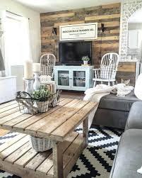 decoration modern rustic living room design ideas diy small