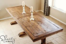 diy farmhouse dining room table plans. i teamed up with my diy friend ashley from shanty2chic for this plan. diy farmhouse dining room table plans u