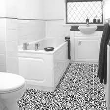 Cluny Cement Tile Adds Class To Bathroom Floor Avente Tile