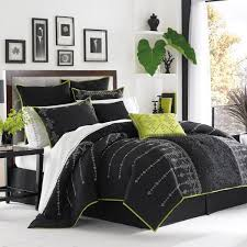 black and green comforter set with regard to i think this will be my next love the white prepare