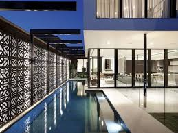 modern outdoor living melbourne. photo of outdoor pool and the terrace amazing modern home in melbourne living