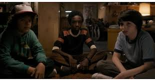 Mike Wheeler, Dustin Henderson, and Lucas Sinclair | Gearing Up For  Stranger Things Season 2? Don't Forget How Season 1 Ends | POPSUGAR  Entertainment Photo 4