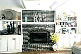 red brick fireplace makeover update red brick fireplace wonderful decoration red brick fireplace luxury idea makeover red brick fireplace