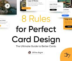 1 2 Page Ad Design 8 Rules For A Perfect Card Design Ux Collective