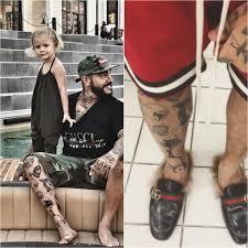 сколько тату у тимати