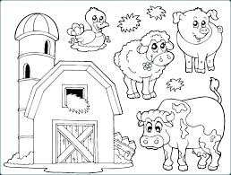 Animal Coloring Pages For Preschoolers Koshigayainfo