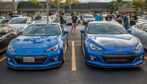 Updated Subaru BRZ World Rally Blue Color (07X) vs. Older (02C ...