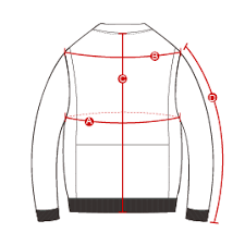 Jacket Measurements Chart Size Chart Outerwear Stealth Bomber Jacket Outerboro